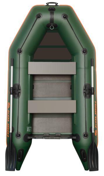 Čln Kolibri KM-245 zelený, lamelová podlaha