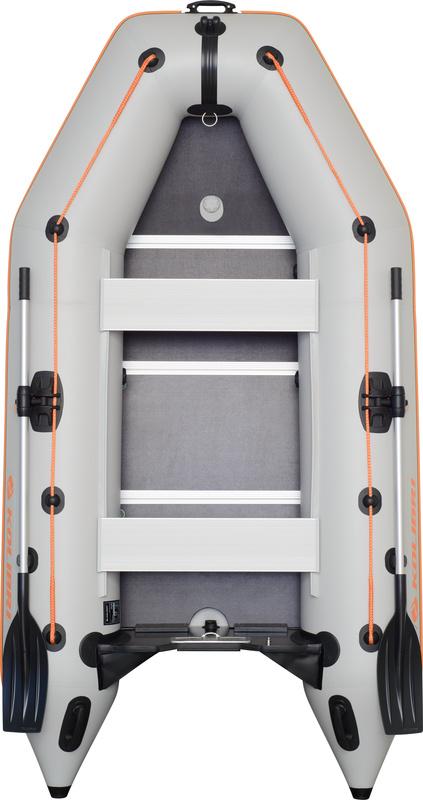 Čln Kolibri KM-300 D šedý, vystužená podlaha