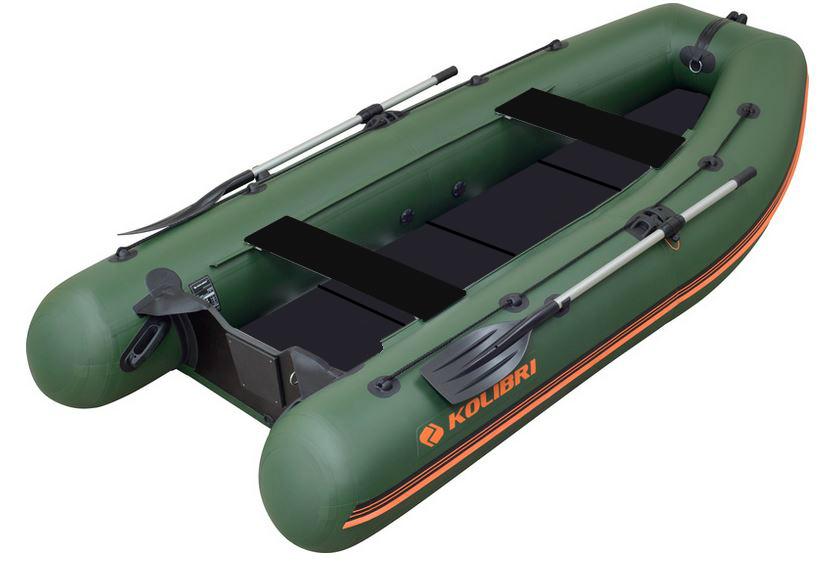 Čln Kolibri KM-300 DL zelený, pevná podlaha (KM-300 DL pevná podlaha)