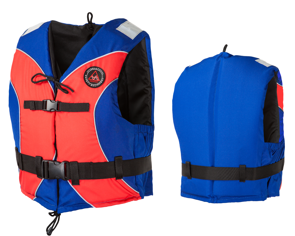 vesta plávacia Aquarius Standard červeno-modrá