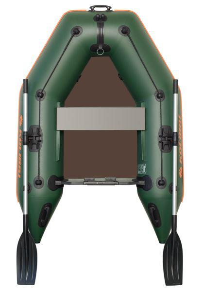 Čln Kolibri KM-200 P zelený, pevná podlaha (KM-200 P pevná skladacia podlaha)