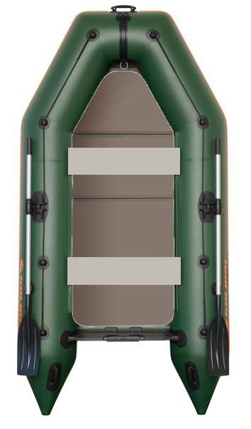 Čln Kolibri KM-300 P zelený, pevná podlaha (KM-300 P pevná skladacia podlaha)