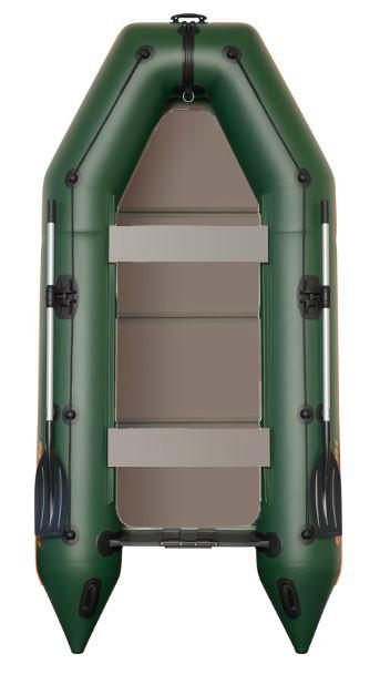 Čln Kolibri KM-330 P zelený, pevná podlaha (KM-330 P pevná skladacia podlaha)