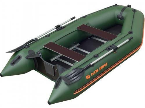 Čln Kolibri KM-330 D zelený, vystužená podlaha (KM-330 D pevná vystužená podlaha)