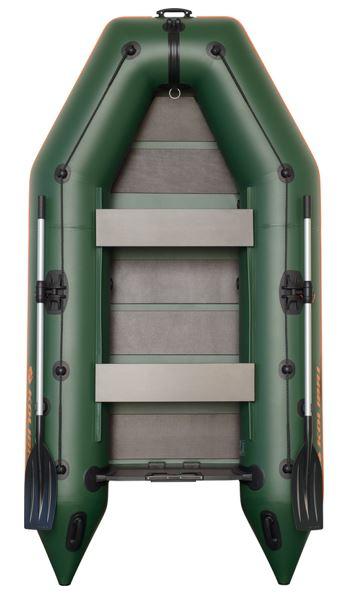 Čln Kolibri KM-300 zelený, lamelová podlaha (KM-300 lamelová podlaha)