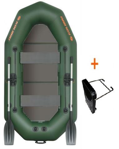 Čln Kolibri K-250 TP profi, pevná podlaha + držiak (K-250 TP profi, pevná podlaha a držiak motora)