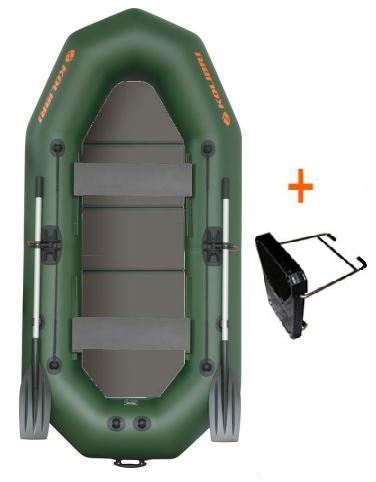 Čln Kolibri K-270 TP profi, pevná podlaha + držiak (K-270 TP profi, pevná podlaha a držiak motora)