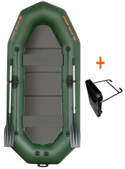 Čln Kolibri K-290 TP profi, pevná podlaha + držiak (K-290 TP profi, pevná podlaha a držiak motora)