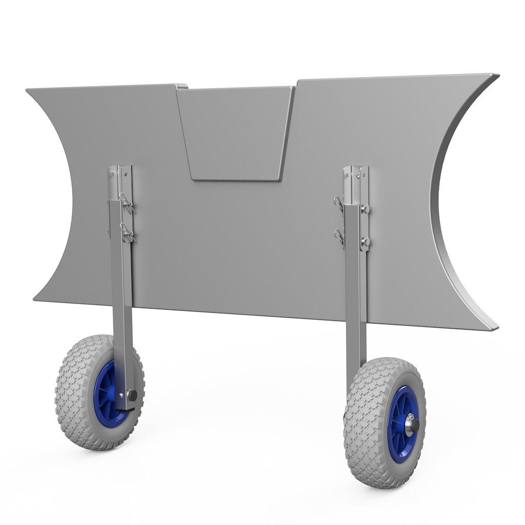 Kolieska prepravné ET200 šedo/modré