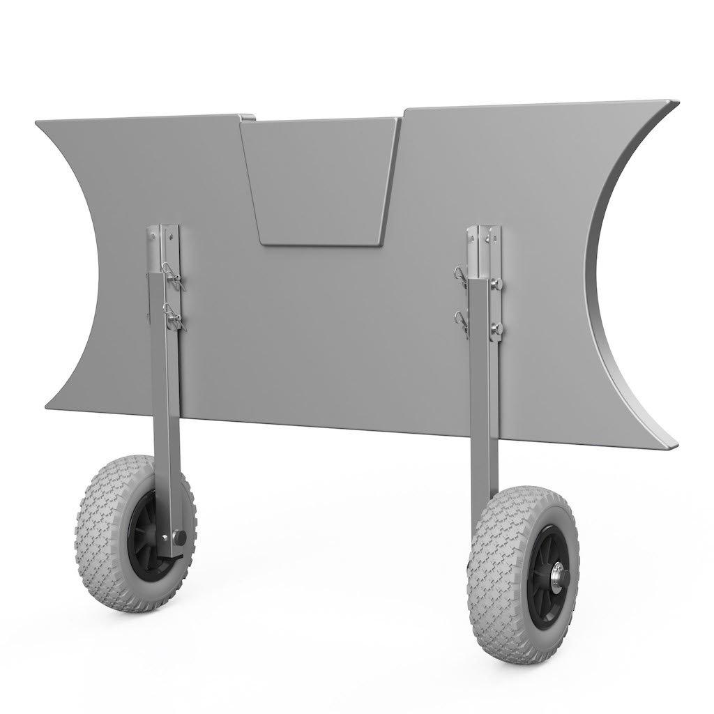 Kolieska prepravné ET200 šedo/čierne