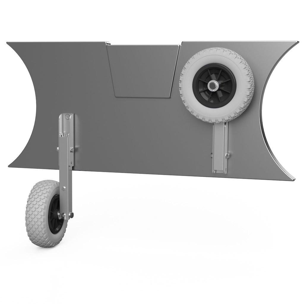 Kolieska prepravné HD200 šedo/čierne