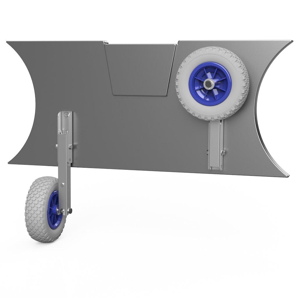 Kolieska prepravné HD200 šedo/modré