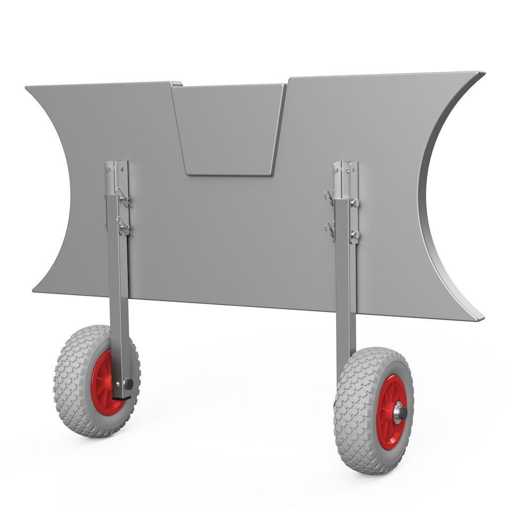 Kolieska prepravné ET200 šedo/červené