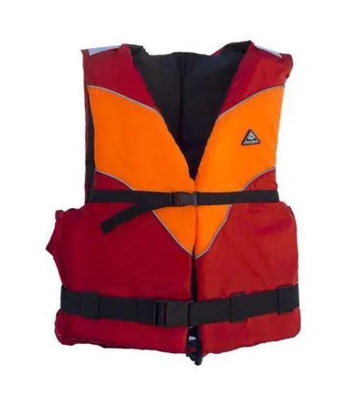 vesta plávacia Aquarius Standard červeno-oranžová